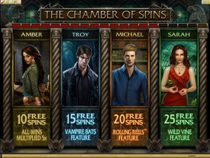 Immortal Romance chamber of spins
