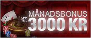 månadsbonus 3000 kr nextcasino