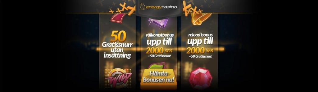 energy casino free spins utan insättning