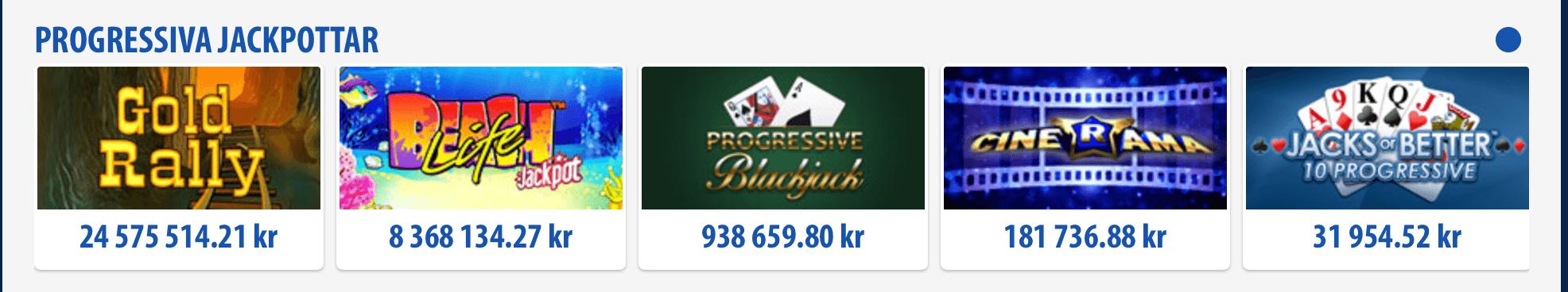 Jackpots på BGO Casino