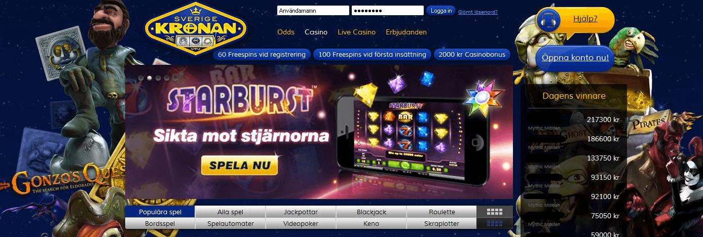 casino free spins utan insättning 2019