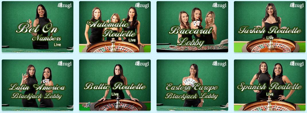 Lucky Casino Live Casino