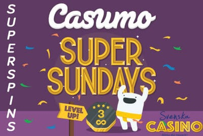 Casumo Super Spin Sunday