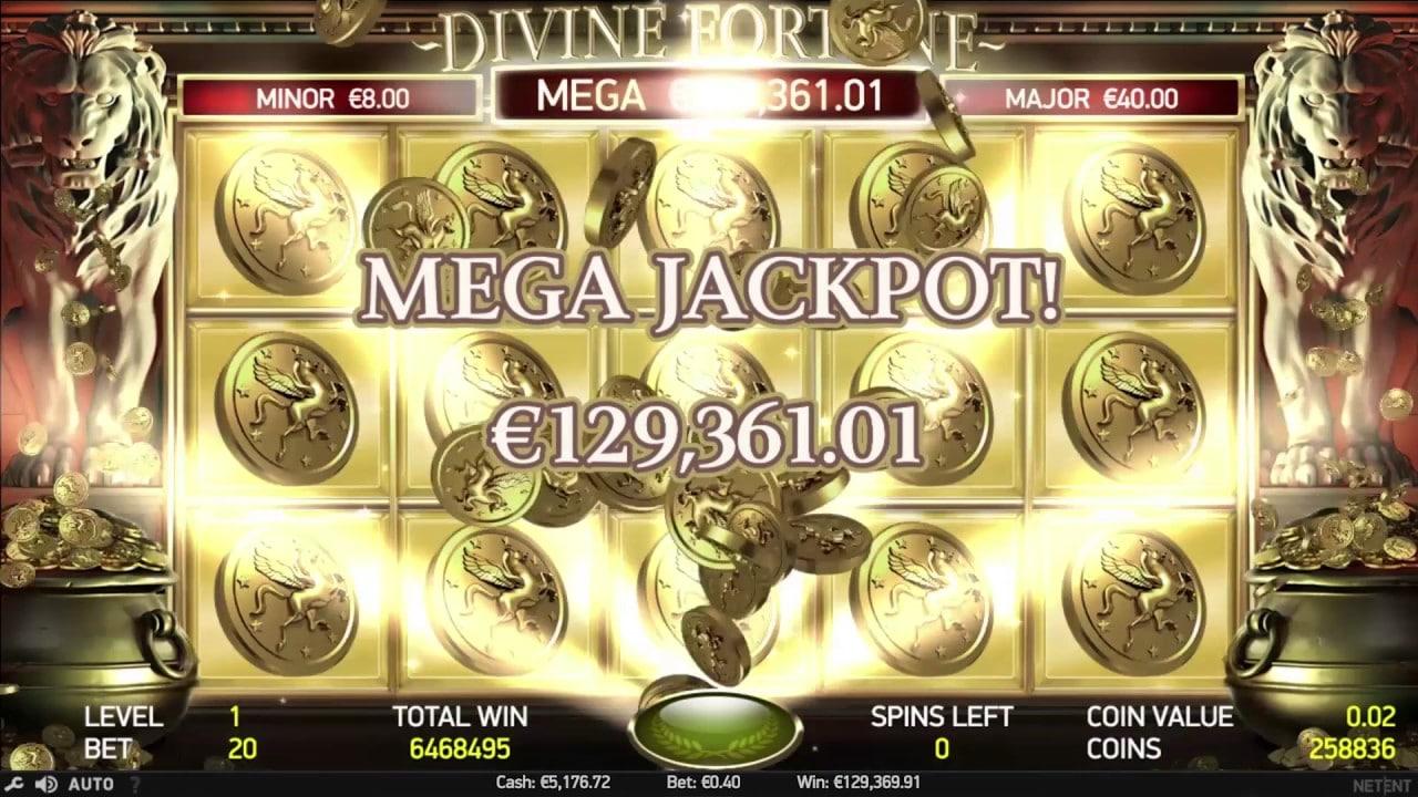 Divine Fortune win