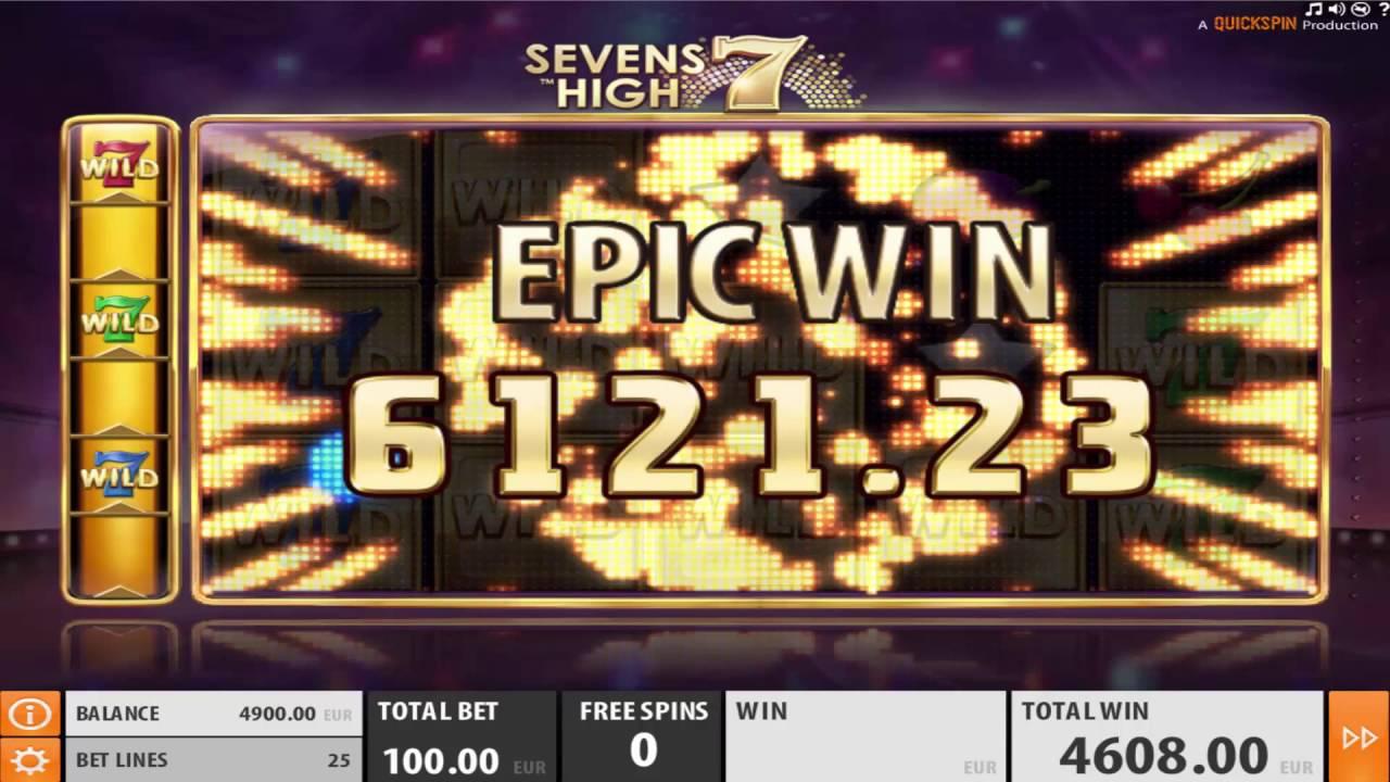 Sevens High Win