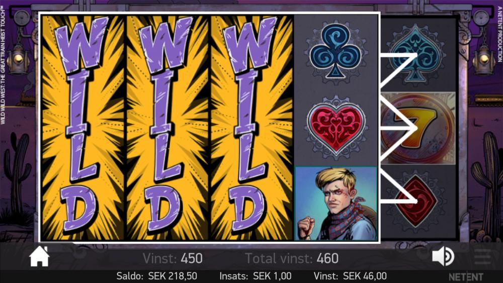 Wild Wild West bonus 2