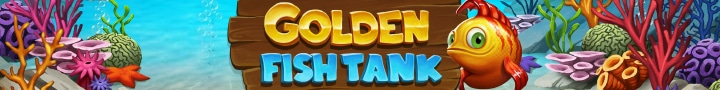 Golden Fish Tank Bottom
