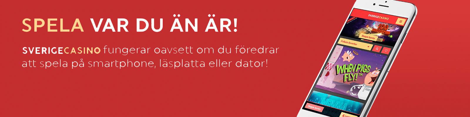 SverigeCasino berättar..
