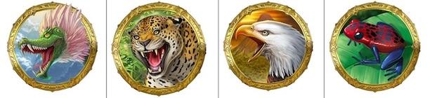 Aztec Warrior Princess Symbols