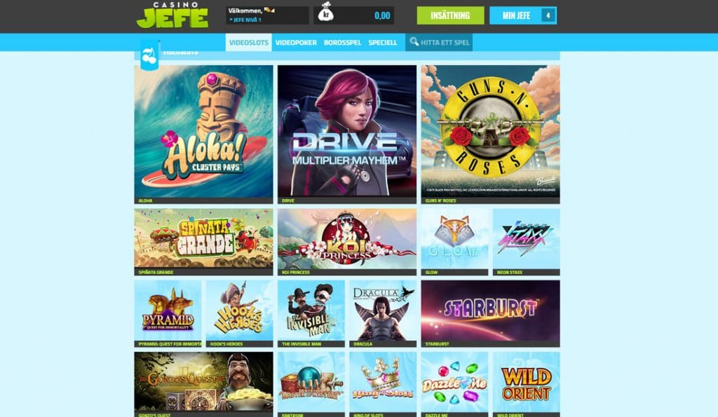 CasinoJefe Slots