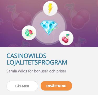 CasinoWilds Lojalitetsprogram