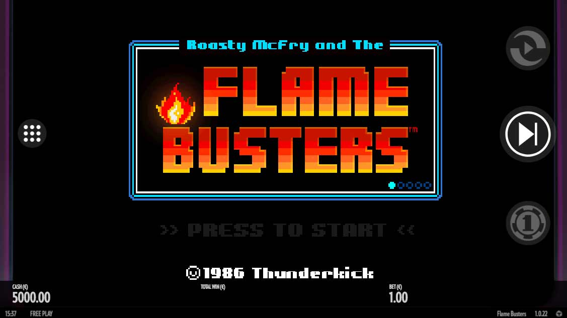 Flame Busters Intro