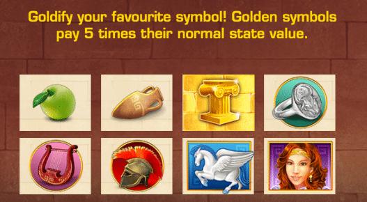 Goldify Symbols