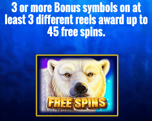 Icy Wilds Free spins