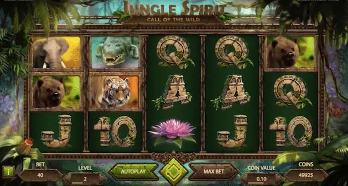Jungle Spirit Spelplan