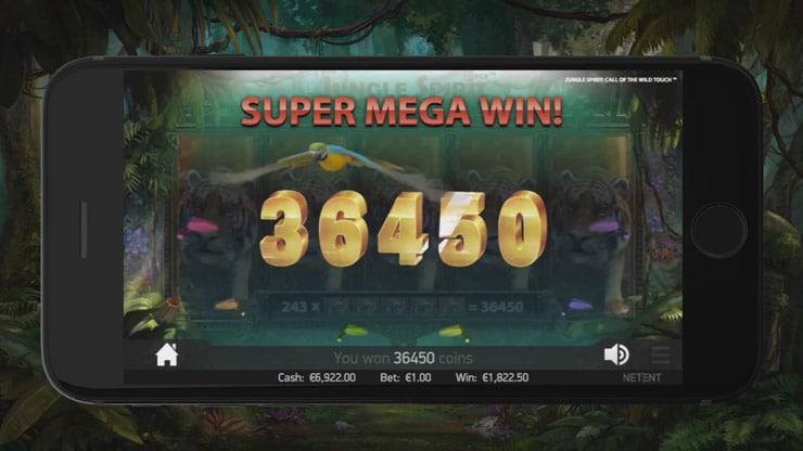 Jungle Spirit Win