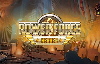 Power Force Heroes Logo
