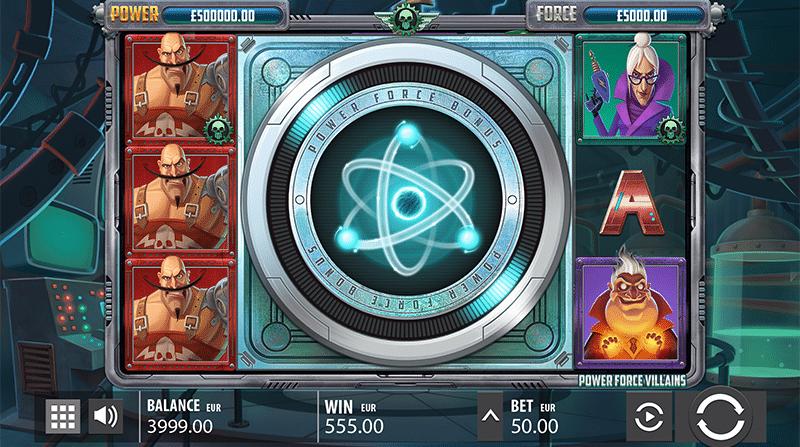 Power Force Villains Bonus