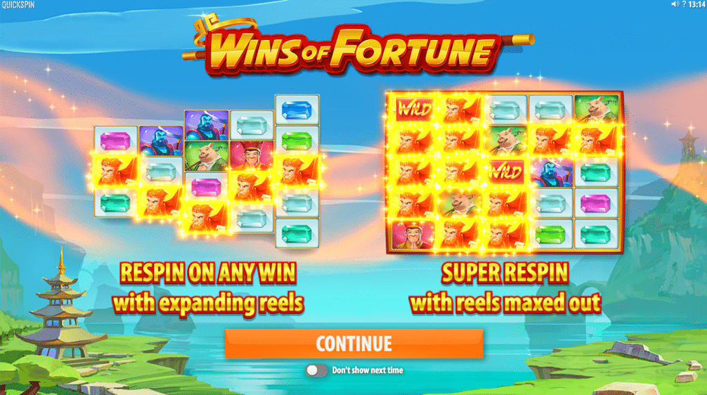 Wins of Fortune 1