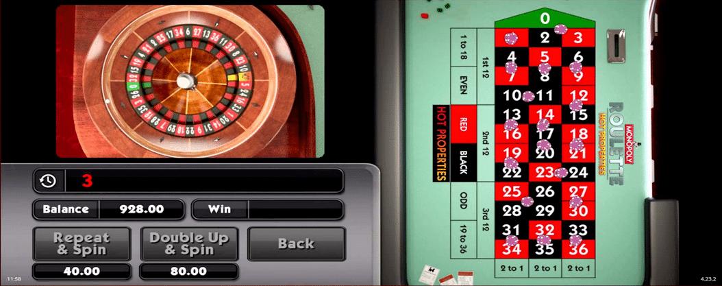 WMS Monopoly Roulette