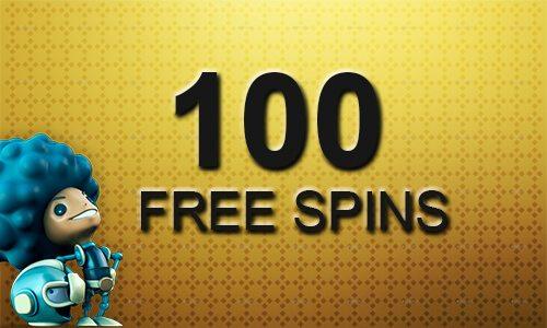 100 Free Spins utan insättning