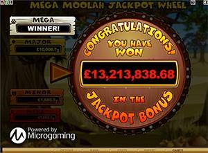 Mega Moolah win
