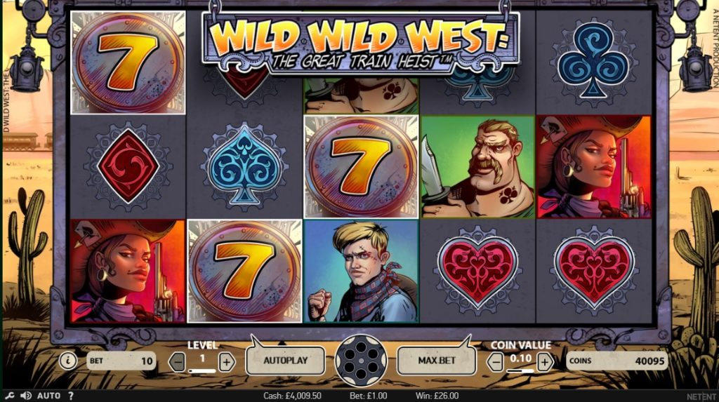 Wild Wild West Spelplan