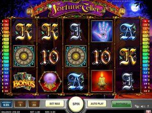 Fortune Teller Spelplan