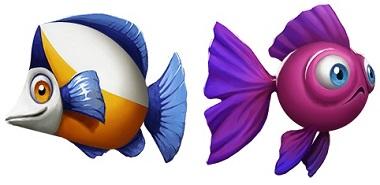 Golden Fish Tank Symbols 2