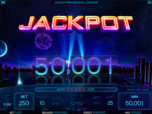 Neon Reels Jackpot