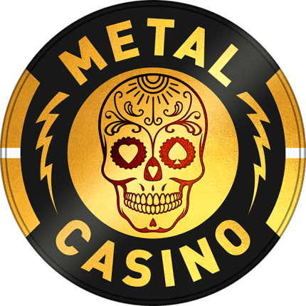 Metal Casino Logo Linear