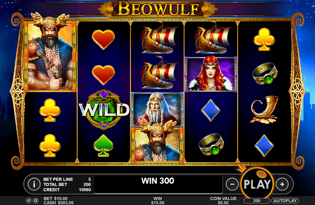 Beowulf Spelplan