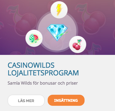 CasinoWilds Lojalitetsprogram