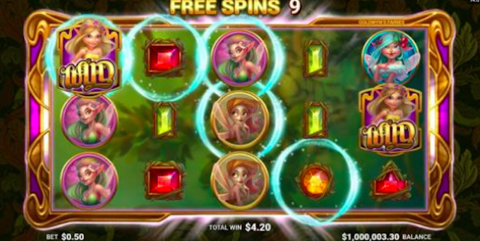 Goldwyns Fairies Free spins