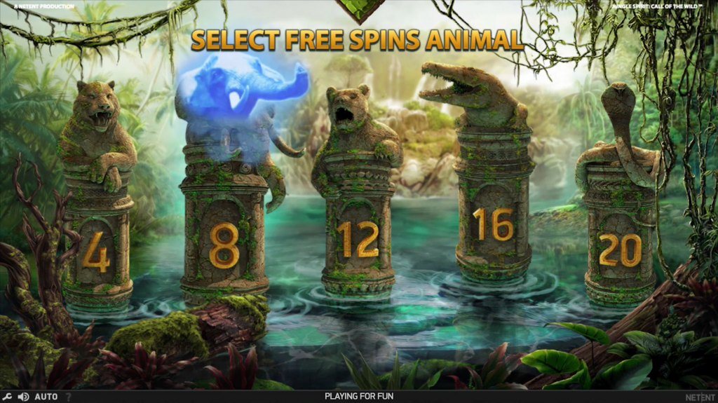 Jungle Spirit Free spins