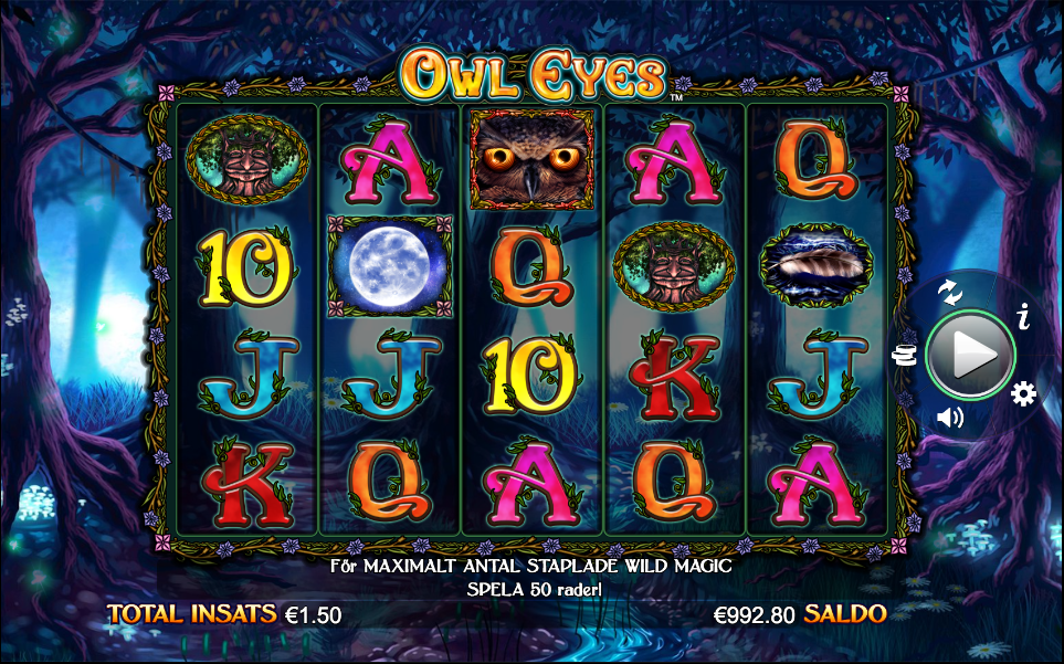 Owl Eyes Spelplan