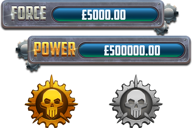 Power Force Villains Jackpot