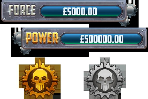 Power Force Villains Jackpot