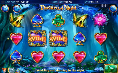 Theatre of Night Spelplan
