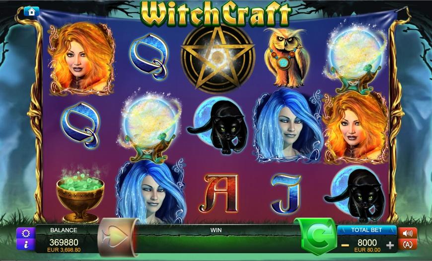 Witchcraft Spelplan