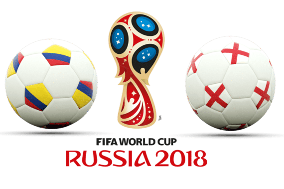 Colombia mot England