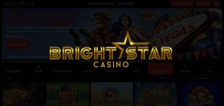 bright star casino info