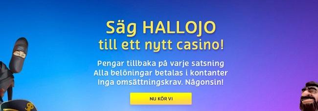 PlayOJO free spins casino