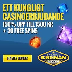 SverigeKronan free spins och gratissnurr