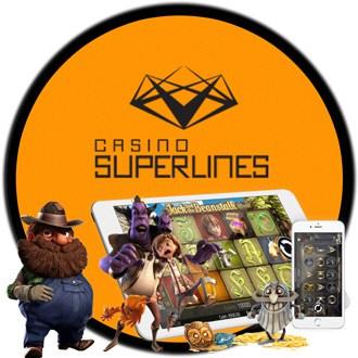 Casino Superlines support och kundservice