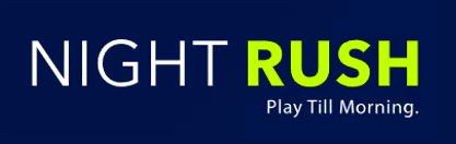 NightRush Logo Linear