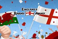 Englands Barmy Army Logo Linear