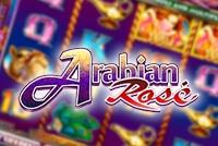Arabian Rose Slot Logo Linear