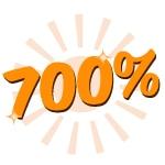sätt in 100 få 700 insättningsbonus